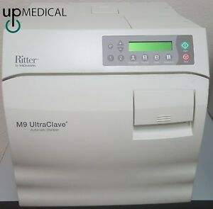 Ritter By Midmark M9 Ultraclave Automatic Sterilizer Only 323 Cycles
