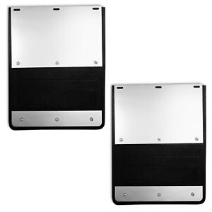 Ex 935f 99 Lund 18 5 X 24 Mud Flaps With Ss Plates For Ford Super Duty Dually