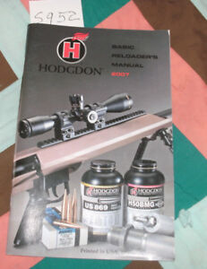 NEW HODGDON 2007 BASIC RELOADER'S MANUAL 78 PAGES NEVER USED FREE SHIP