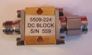 Picosecond Pulse Labs Ppl 5509 224 50 Ghz Dc Block Tested