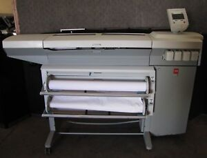 Oce Tcs 500 Wide Format Color Printer Plotter 2308