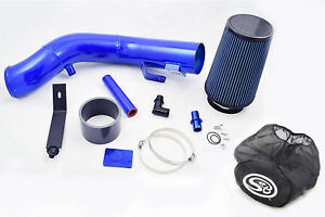 Rdp Blue Oiled Cold Air Intake W S B Wrap 03 07 Ford 6 0l Powerstroke Diesel