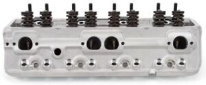 Small block Chevy E street Cylinder Heads 64cc 5089
