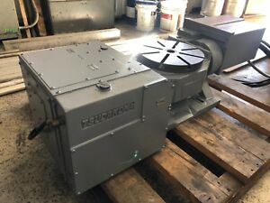 Tsudakoma Rotary Table 4th And 5th Axis Ttnc 301 W Fadal 4th And 5th Boards