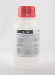 Nitric Acid 16oz 70 Concentrated Acs Lab Grade Best For Gold Silver Refining