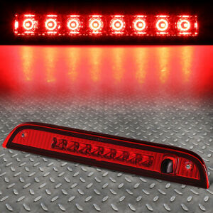 For 07 17 Jeep Patriot Led Third 3rd Tail Brake Light Rear Stop Parking Lamp Red