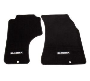 Nrg Innovations Floor Mats Set For 89 98 Nissan 240sx With 240sx Logo