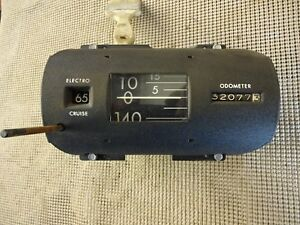 1966 1967 Buick Riviera And Riviera Gs Electro Cruise Control Speedometer 2