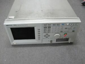 Hp 5372a Frequency And Time Interval Analyzer for Parts