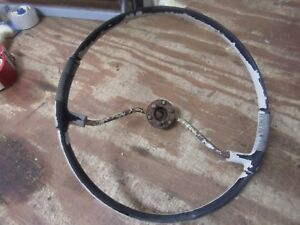 1958 Plymouth Savoy Interior Original Steering Wheel Rat Rod Hot Rod Core