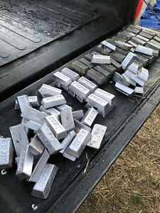 25 lbs Lead Ingots 4% Antimony. Perfect for Cast Bullets