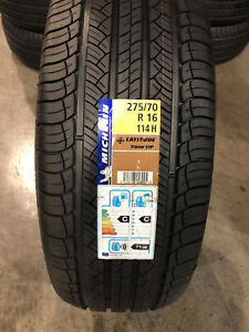 4 New 275 70 16 Michelin Latitude Tour Hp Tires