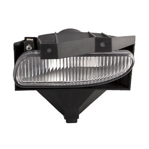 Fits 1999 2004 Ford Mustang Fog Lamp 99 04 Base Gt Mach1 Rectangle Driver Left