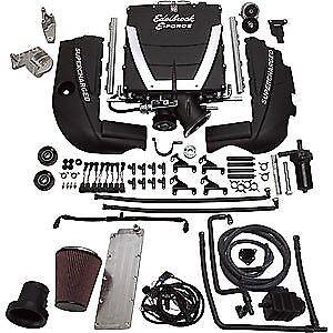 Edelbrock 15461 E force Universal Supercharger Kit Gen Iii Ls1 Engine Cathedral