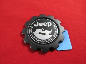 Jeep Wrangler Jeep Fender Performance Parts Gear Shaped Badge New Oem Mopar