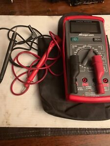 Snap on Manual Ranging Digital Multimeter Eedm503d With Leads