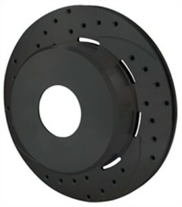 Wilwood 160 11552 bk Srp Drilled Performance Rotor And Hat Diameter 11 00 Width