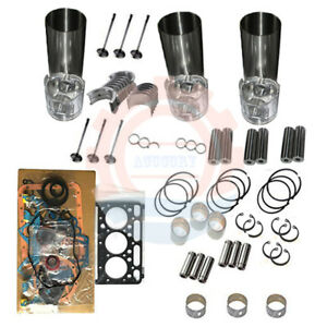 Overhaul Rebuild Kit For Yanmar 3tnv70 Engine Vio15 3 Vio10 2 Vio15 2a Excavator