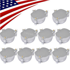 10x Dental Denture Flask Compressor Parts Lab Press Equipment Aluminium Us Stock