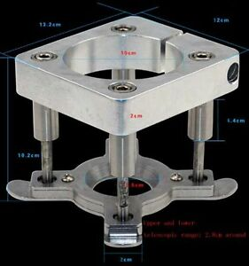 65mm 125mm Diameter Spindle Motor Automatic Platen Clamp Cnc Engraving Machine