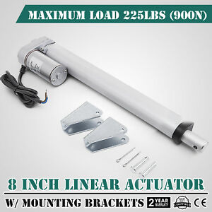 8 900n Linear Actuator 12v Electric Motor For Solar Track Auto Door Lifting