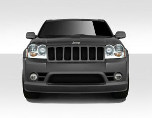 Duraflex Srt Look Front Bumper Body Kit For 05 07 Jeep Grand Cherokee