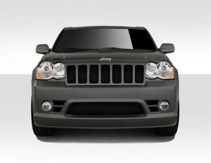 Duraflex Srt Look Front Bumper Body Kit For 08 10 Jeep Grand Cherokee