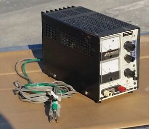 Kikusui Model Pab 18 3 Regulated Dc Power Supply 0 18 Volts 0 3 Amps