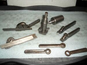 Headstock Center From 10 South Bend Heavy 10 Lathe With Tool Post And Holders
