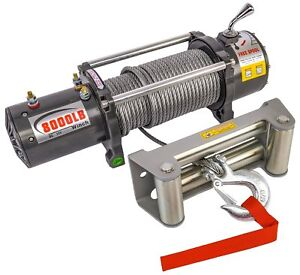 Jegs Performance Products 92605 8000 Lb Electric Winch For Truck Or Trailer