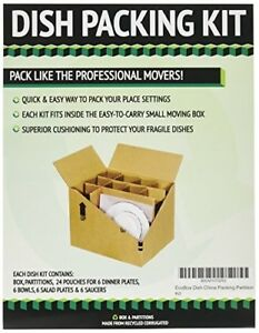 Ecobox Dish Pack Moving Kit Pack Of 2 v 7380