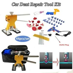 1set Pdr Dent Lifter glue Puller Tab Removal Paintless Car Dent Repair Tools Kit