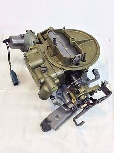Holley Carburetor List R 8637 1979 Ford Trucks 370 Engine Heavy Duty Governor