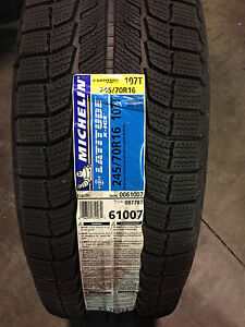 4 New 245 70 16 Michelin Latitude X ice Xi2 Snow Tires