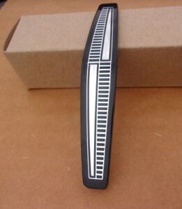 New 1965 Plymouth Belvedere Plastic Grille Medallion Black Silver