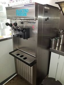 Electro Freeze Soft Serve Ice Cream Yogurt Machine Sl500 132 Local Pickup Only