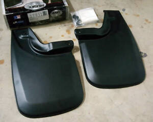 Sale Husky Liners Mud Flap Guards Toyota Tacoma 05 15 rear W Oe Fender Flares