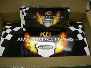 70 74 Ford 351c 5 8l Cleveland Engin keith Black Pistons Rings 020 Set Of 8