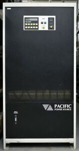 Pacific Power 3060 ms Ac Power Supply Output 0 120 208 V 175a 62 5 Kva