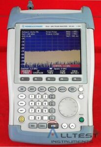 Rohde And Schwarz Fsh3 Mobile Spectrum Analyzer 104992