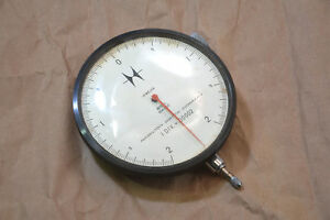 Hamilton Watch Co High Resolution 0 00002 Large Face Dial Indicator Tested