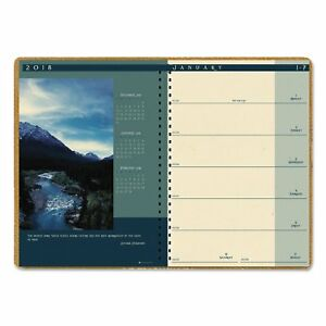 House Of Doolittle Recycled Landscapes Weekly monthly Planner 8 1 2 X 11