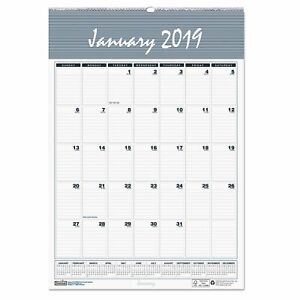 House Of Doolittle Recycled Bar Harbor Wirebound Monthly Wall Calendar 22 X 31