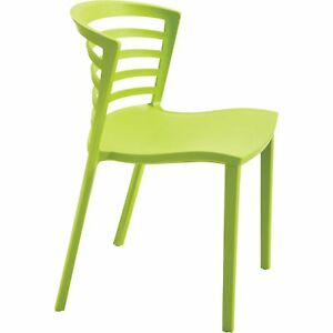 Mayline Safco Entourage Stack Chairs Set Of 4 Grass Model 4359gs
