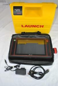 Launch Automotive Electronic Scanner Tool X431 Ii Pad Tablet W adaptor Box