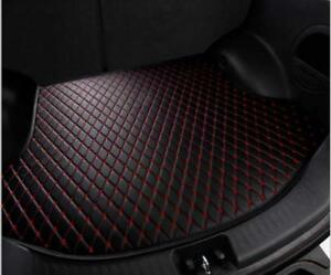 Civic Rear Cargo Liner Tray Leather Black Red Trunk Floor Mat Cover Honda 12 15