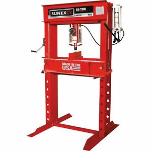 Sunex 50 Ton Manual Hydraulic Shop Press Model 5750