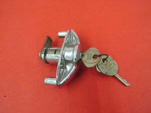 Nos 1938 1939 Ford Glove Box Lock And Handle G 4 6