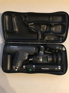 Welch Allyn Panoptic Ophthalmoscope Macroview Otoscope Diagnostic Set
