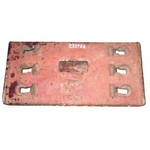 Used Front End Slab Weight Case 870 970 770 1070 A59355